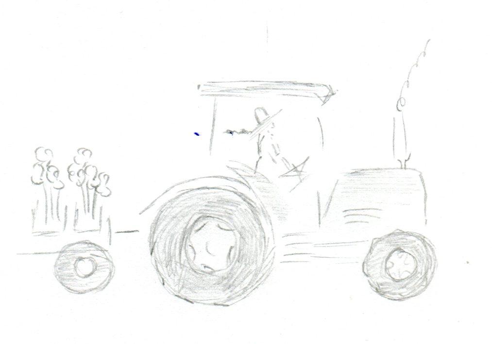 peony  tractor